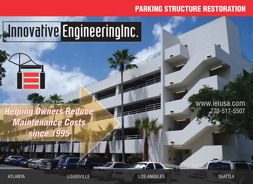 IEI Parking structure ad