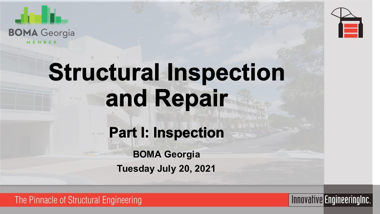 Structural Inspection BOMA Georgia